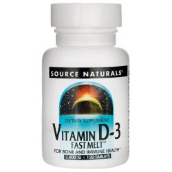 Source NaturalsVitamin D-3 Fast Melt