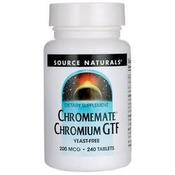 Source NaturalsChromemate Chromium GTF