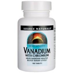Source NaturalsVanadium with Chromium