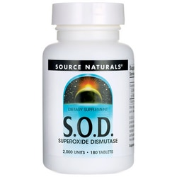 Source NaturalsS.O.D. Superoxide Dismutase