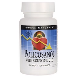 Source NaturalsPolicosanol with Coenzyme Q10