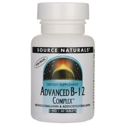 Source NaturalsAdvanced B-12 Complex