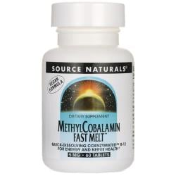 Source NaturalsMethylCobalamin Fast Melt