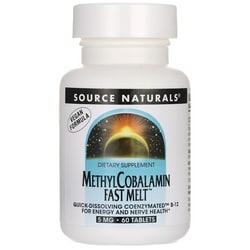 Source NaturalsMethylCobalamin Fast Melt