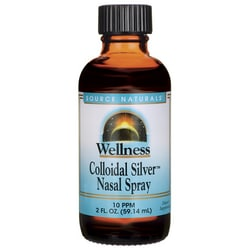 Source NaturalsWellness Colloidal Silver Nasal Spray