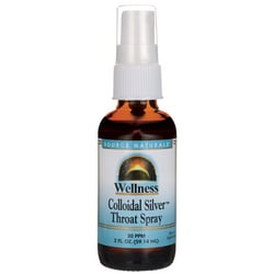 Source NaturalsWellness Colloidal Silver Throat Spray