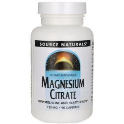 Source NaturalsMagnesium Citrate
