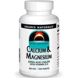 Source NaturalsCalcium & Magnesium Amino Acid Chelate with Vitamin D-3