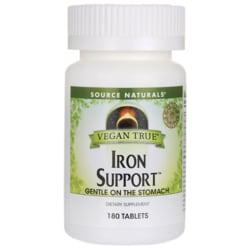 Source NaturalsVegan True Iron Support
