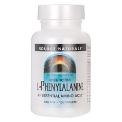 Source NaturalsFree Form L-Phenylalanine
