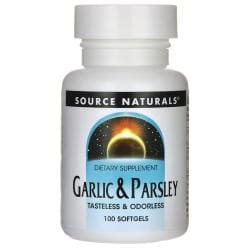 Source NaturalsGarlic & Parsley