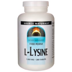 Source NaturalsFree Form L-Lysine