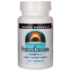 Source NaturalsHydroxoCobalamin - Cherry Flavor
