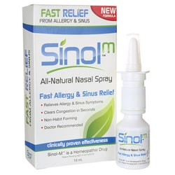 SinolSinol-M All Natural Nasal Spray-Fast Allergy & Sinus Relief
