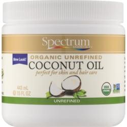 Spectrum Essentials Organic Coconut Oil Unrefined