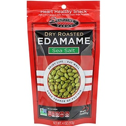 Seapoint FarmsDry Roasted Edamame Lightly Salted