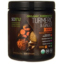 SotruOrganic Fermented Turmeric & Ginger Drink Mix