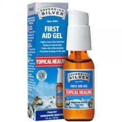 Sovereign SilverSilver First Aid Gel