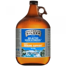 Sovereign Silver Bio-Active Silver Hydrosol - 1 Gallon