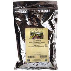 Starwest Botanicals Alfalfa Leaf Powder Organic