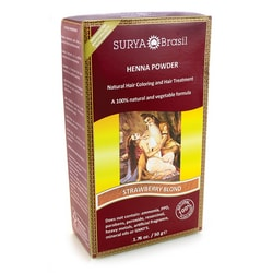 Surya BrasilHenna Powder Hair Coloring Strawberry Blonde