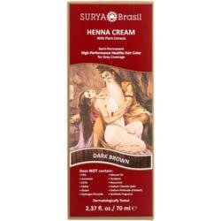 Surya BrasilHenna Cream Semi-Permanent Hair Color - Dark Brown