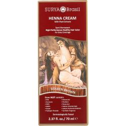 Surya BrasilHenna Cream With Plant Extracts Hair Color - Golden Bro