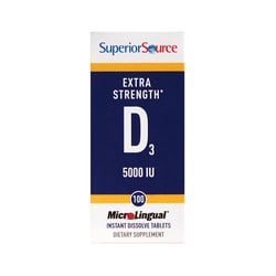 Superior SourceVitamin D3 5000 IU - MicroLingual