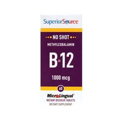 Superior Source B-12 Methylcobalamin