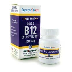 Superior SourceB-12 w/ B-6 & Folic Acid