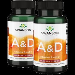 Swanson Premium Vitamin A & D