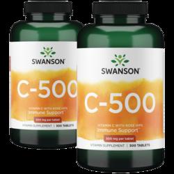 Swanson Premium Vitamin C w/Rose Hips