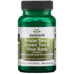 Swanson PremiumGrape Seed, Green Tea & Pine Bark Complex