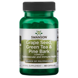 Swanson Premium Grape Seed, Green Tea & Pine Bark Complex
