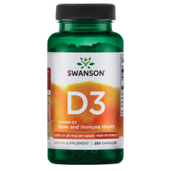 Swanson PremiumHigh Potency Vitamin D-3
