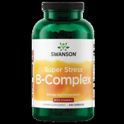 Swanson PremiumSuper Stress Vitamin B-Complex with Vitamin C