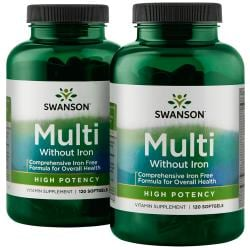 Swanson PremiumMulti without Iron - High Potency