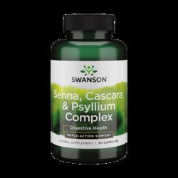 Swanson PremiumSenna Psyllium Cascara Complex