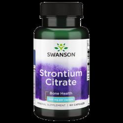 Swanson Premium Strontium Citrate