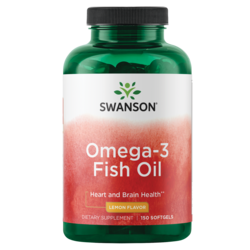 Lemon Flavor Omega-3 Fish Oil