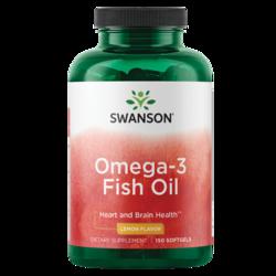 Swanson PremiumLemon Flavor Omega-3 Fish Oil