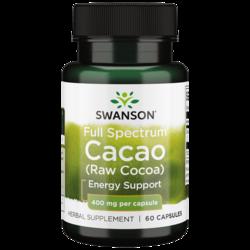 Swanson Premium Full Spectrum Cacao (Raw Cocoa)