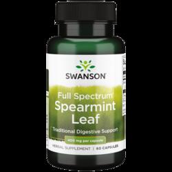 Swanson Premium Full Spectrum Spearmint Leaf