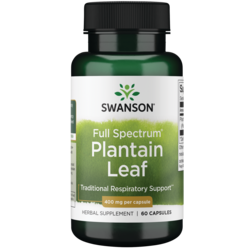 Swanson Premium Full Spectrum Plantain (Leaf) Plantago Major