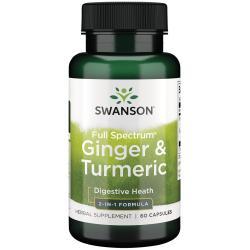 Swanson PremiumFull Spectrum Ginger & Turmeric