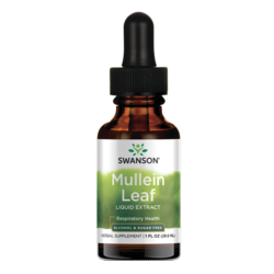 Swanson PremiumMullein Leaf Liquid Extract (Alcohol and Sugar-Free)