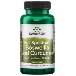 Swanson PremiumFull Spectrum Boswellia and Curcumin