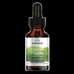 Swanson Premium Passion Flower Liquid Extract (Alcohol and Sugar-Free)