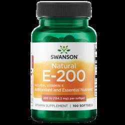 Swanson Premium Natural Vitamin E