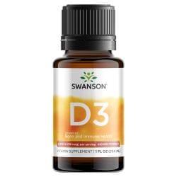 Swanson PremiumVitamin D3 Liquid Drops